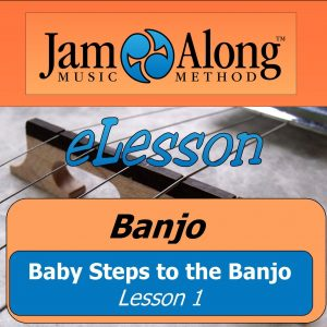 baby steps to banjo - product image