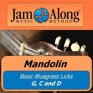 mandolin licks G C D  - cover