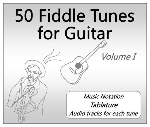 50 fiddle tunes for guitar - product image