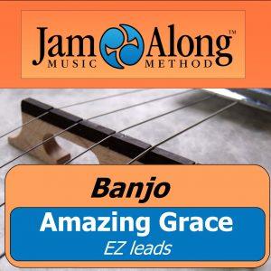 banjo lesson - EZ leads (amazing grace) - product image