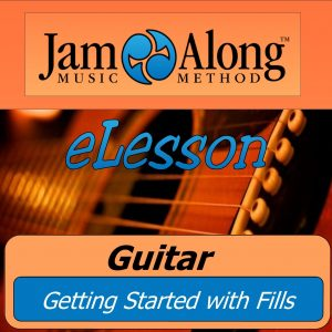 guitar lesson - getting started with fills - product image