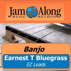 banjo lesson - earnest t bluegrass (EZ leads)