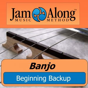 banjo lesson - beginning backup - product image