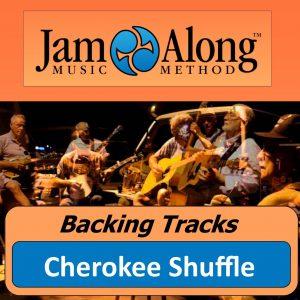 backing track - cherokee shuffle - product image