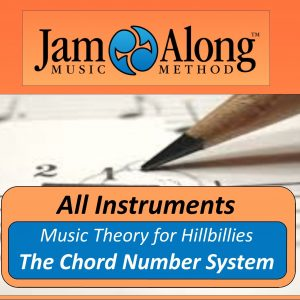 music lesson - chord number system - product image