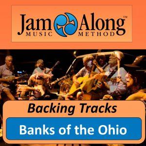 backing track - banks of the ohio - product image