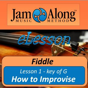 fiddle lesson - how to improvise (lssn 1, key of G) - product image
