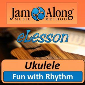 ukulele lesson - fun with rhythm - product image