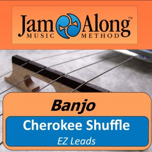 banjo lesson - EZ leads - cherokee shuffle - product image
