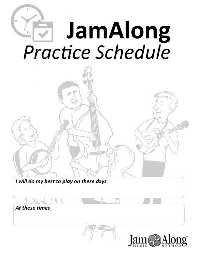 practice schedule, how to practice