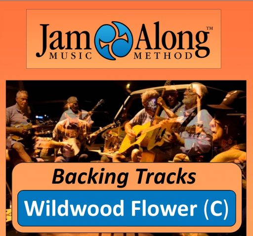 Wildwood Flower - Backing Tracks (C)