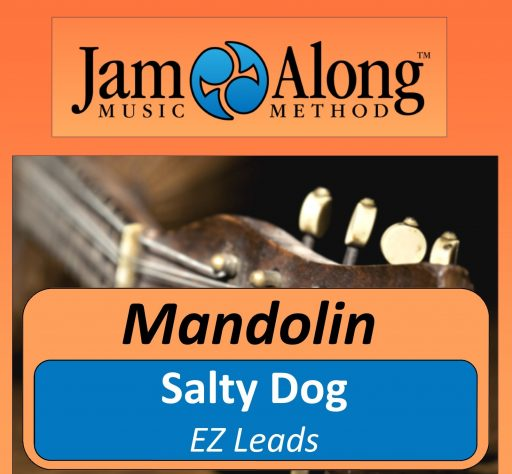 Salty Dog - EZ Leads for Mandolin