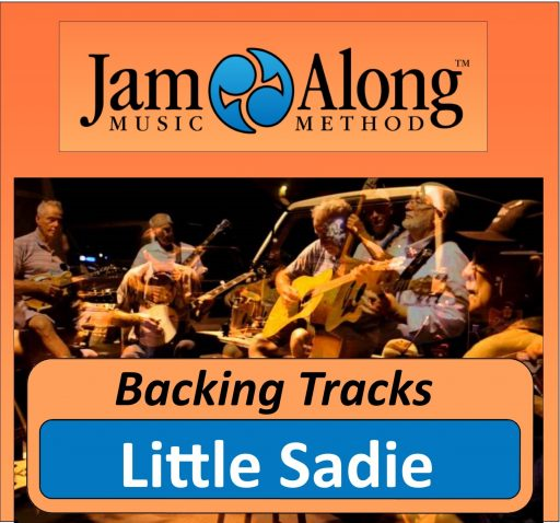 Little Sadie - Backing Track (Dm)