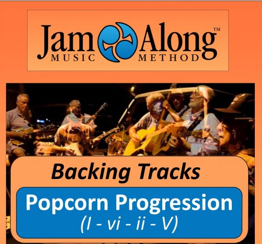 Backing Tracks  -Popcorn Progression (I - vi - ii - V)