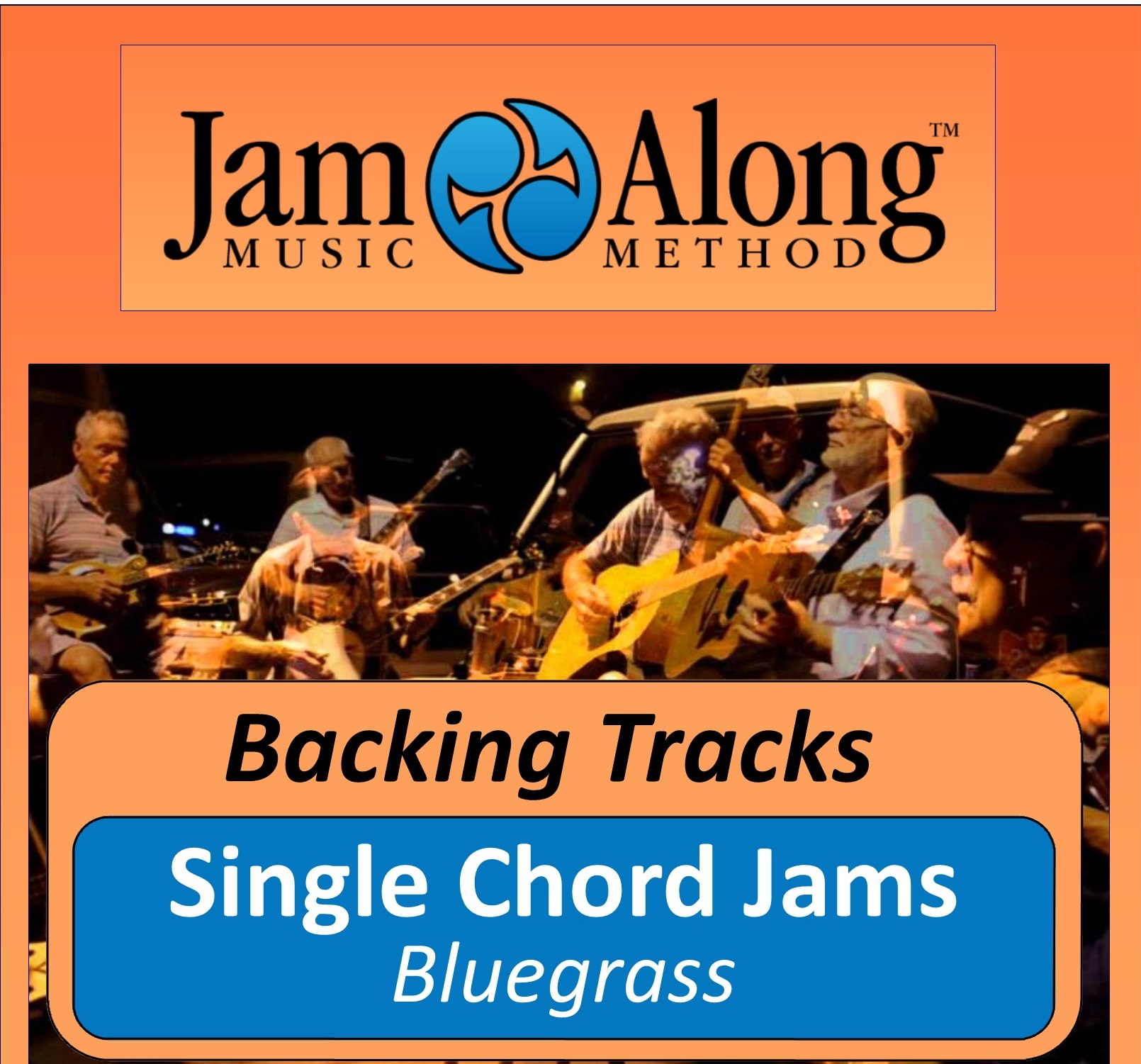 Single Chord Jams Bluegrass Backing Tracks Jamalong Music Method