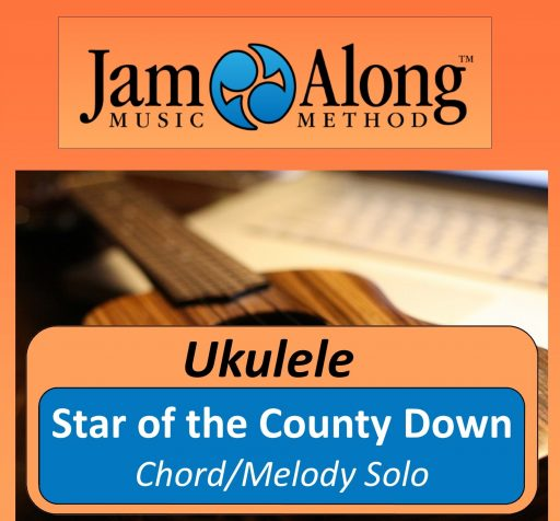 Star of the County Down - Chord/melody Solo