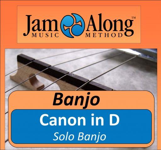 Canon in D  - Solo Banjo