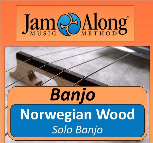 Norwegian Wood - Solo Banjo
