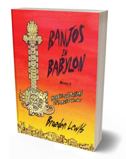 banjos in babylon book cover